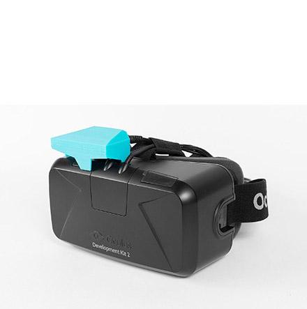 Oculus Rift DKII met Eye Tracker