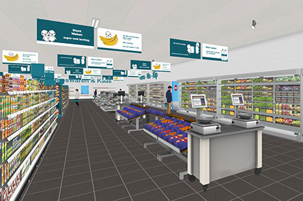 Virtuele Supermarkt met Eye Tracking